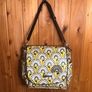 Petunia Pickle Bottom Boxy Floral Diaper Bag